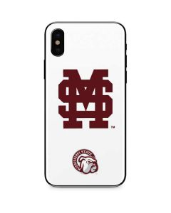 Mississippi State Interlocking Logo iPhone X Skin