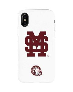 Mississippi State Interlocking Logo iPhone XS Pro Case