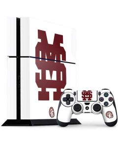 Mississippi State Interlocking Logo PS4 Console and Controller Bundle Skin
