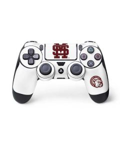 Mississippi State Interlocking Logo PS4 Controller Skin