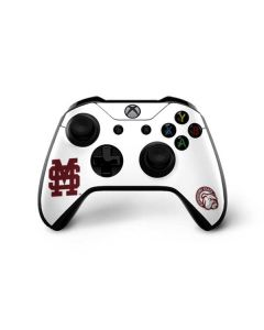 Mississippi State Interlocking Logo Xbox One X Controller Skin
