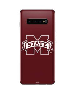 Mississippi State Logo Galaxy S10 Plus Skin