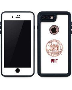 MIT White Logo iPhone 8 Plus Waterproof Case