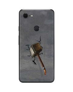 Mjolnir Hammer of Thor Google Pixel 3 XL Skin