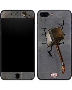 Mjolnir Hammer of Thor iPhone 8 Plus Skin