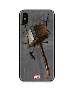 Mjolnir Hammer of Thor iPhone X Skin