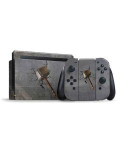 Mjolnir Hammer of Thor Nintendo Switch Bundle Skin