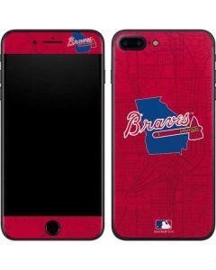 Atlanta Braves Home Turf iPhone 8 Plus Skin