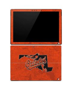 Baltimore Orioles Home Turf Surface Pro 4 Skin