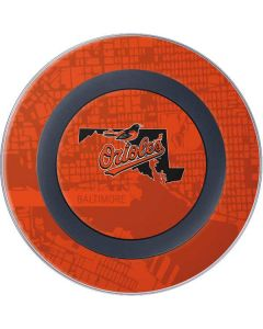 Baltimore Orioles Home Turf Wireless Charger Skin