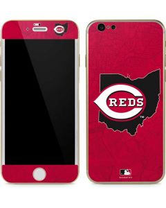 Cincinnati Reds Home Turf iPhone 6/6s Skin