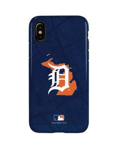 Detroit Tigers Home Turf iPhone X Pro Case