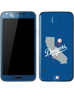 Los Angeles Dodgers Home Turf Galaxy S5 Skin