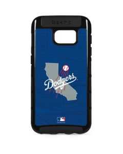 Los Angeles Dodgers Home Turf Galaxy S7 Edge Cargo Case