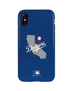 Los Angeles Dodgers Home Turf iPhone X Pro Case