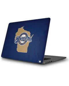 Milwaukee Brewers Home Turf Apple MacBook Pro Skin