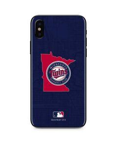 Minnesota Twins Home Turf iPhone X Skin