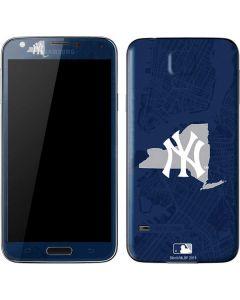 New York Yankees Home Turf Galaxy S5 Skin