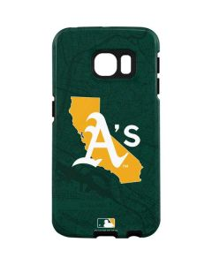 Oakland Athletics Home Turf Galaxy S7 Edge Pro Case