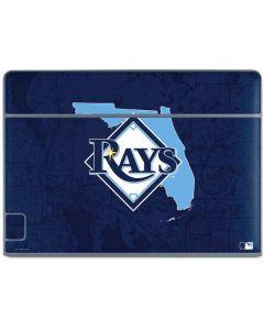 Tampa Bay Rays Home Turf Galaxy Book Keyboard Folio 10.6in Skin