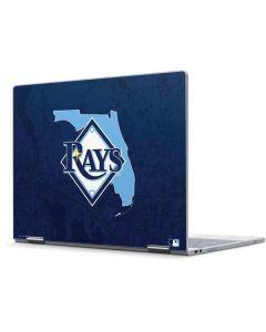 Tampa Bay Rays Home Turf Pixelbook Skin