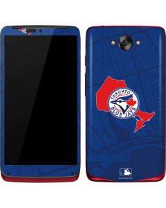 Toronto Blue Jays Home Turf Motorola Droid Skin
