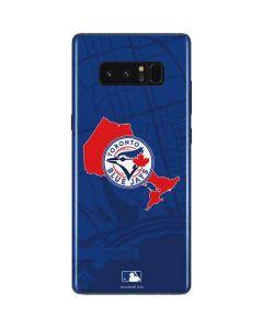 Toronto Blue Jays Home Turf Galaxy Note 8 Skin