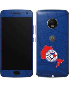 Toronto Blue Jays Home Turf Moto G5 Plus Skin