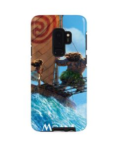 Moana and Maui Ride the Wave Galaxy S9 Plus Pro Case