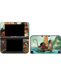 Moana and Maui Set Sail 3DS XL 2015 Skin