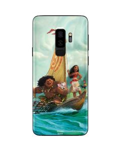Moana and Maui Set Sail Galaxy S9 Plus Skin