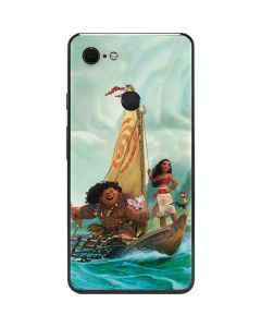 Moana and Maui Set Sail Google Pixel 3 XL Skin