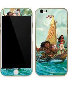 Moana and Maui Set Sail iPhone 6/6s Skin