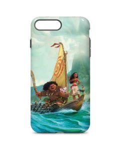 Moana and Maui Set Sail iPhone 8 Plus Pro Case