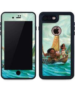 Moana and Maui Set Sail iPhone 8 Plus Waterproof Case