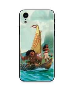 Moana and Maui Set Sail iPhone XR Skin