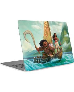Moana and Maui Set Sail Apple MacBook Air Skin