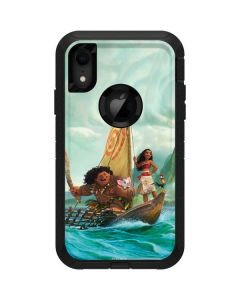 Moana and Maui Set Sail Otterbox Defender iPhone Skin