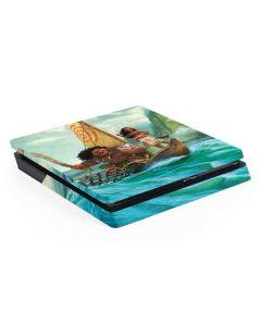 Moana and Maui Set Sail PS4 Slim Skin
