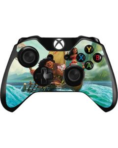 Moana and Maui Set Sail Xbox One Controller Skin