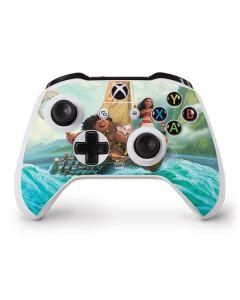 Moana and Maui Set Sail Xbox One S Controller Skin