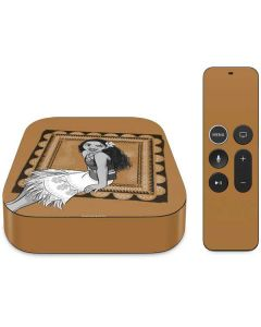 Moana Winking Apple TV Skin