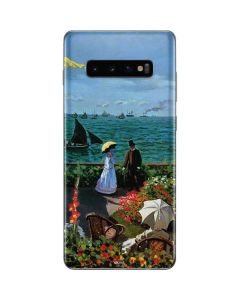 Monet - The Terrace at Sainte-Adresse Galaxy S10 Plus Skin