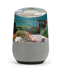 Monet - The Terrace at Sainte-Adresse Google Home Skin