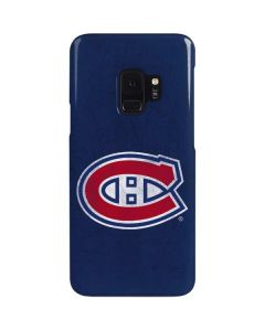 Montreal Canadiens Distressed Galaxy S9 Lite Case