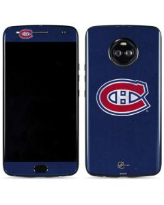 Montreal Canadiens Distressed Moto X4 Skin