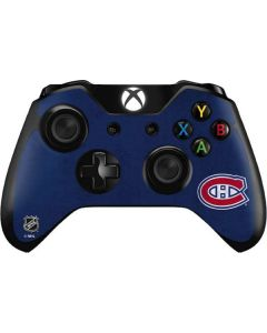 Montreal Canadiens Distressed Xbox One Controller Skin