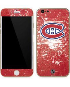 Montreal Canadiens Frozen iPhone 6/6s Skin