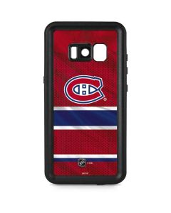 Montreal Canadiens Home Jersey Galaxy S8 Waterproof Case