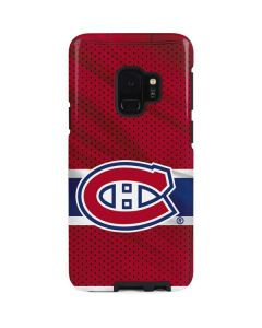 Montreal Canadiens Home Jersey Galaxy S9 Pro Case